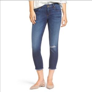 Kit from the Kloth The Donna Crop Skinny Jeans